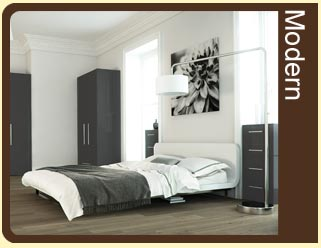 Contemporary Fitted Bedrooms